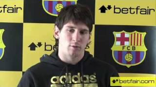 Lionel Messi intervju