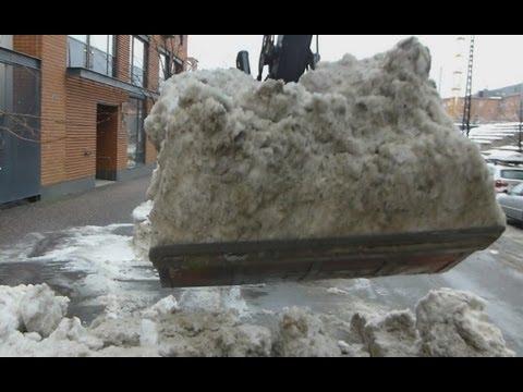 Terex TW 110 lumen kuormauksessa 2