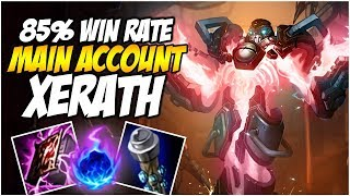85% Win Rate in 20 Games, My best champion? XERATH - Climb to Master S8 | League of Legends