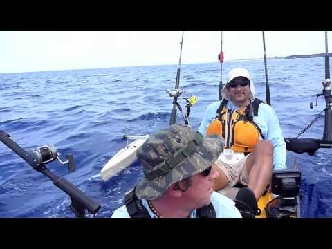 Hawaii tsunami warning hobie tandem kayak fishing how for Kayak fishing hawaii