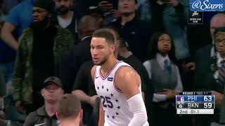 Ben Simmons | Round 1 Game 3 Highlights vs Brooklyn Nets (4.18.19)