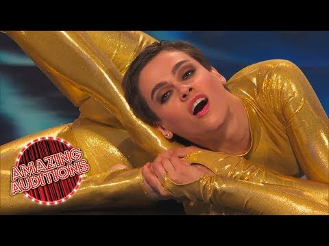 America's Got Talent 2014 - Twisted - A Compilation of Contortion featuring Nina Burri