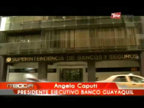 Firma de convenio Banco de Guayaquil - Coface