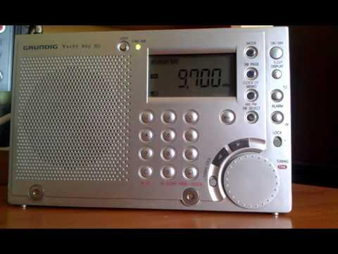 Radio New Zealand - 9700 kHz - Grundig Yacht Boy 80 (WR5408)