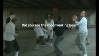 DANCING BEAR, MOONWALKING BEAR, CYCLIST AWARE