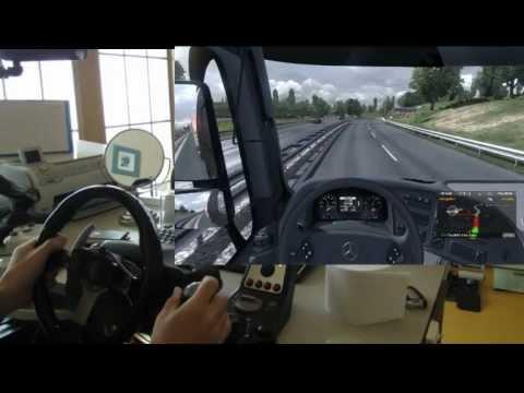 Euro Truck Simulator 2 + G25 + Track IR