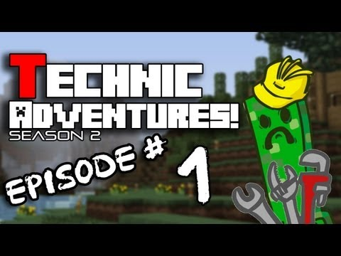 Technic Adventures! - Worlds Greatest Seed! (S2:1)