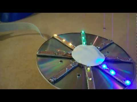 The Turnigy H.A.L. Heavy Aerial Lift Quadcopter LED CHASER
