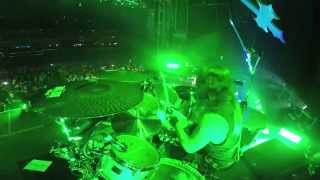 SLAYER Paul Bostaph - War Emsamble (Drum-Cam Footage 2014)
