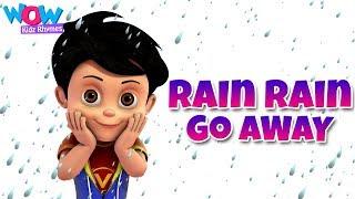 Rain Rain Go Away Nursery Rhyme With Lyrics - Cartoon Animation Songs for Kids - Vir:The Robot Boy
