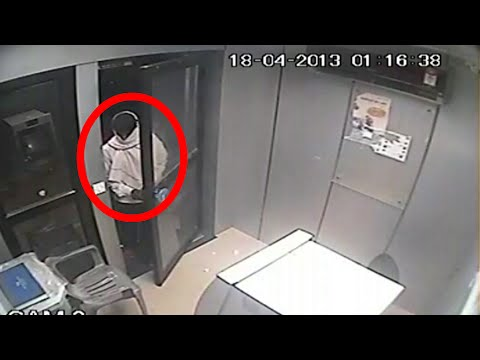 Real Ghost Video | Ghost In ATM Room | Real Ghost Caught On Camera | Tape 9