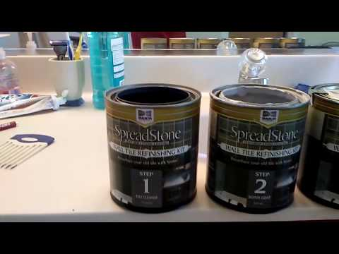 Daich coatings spreadstone tile coating kit