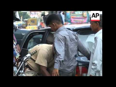 WRAP Home said to be of suspect's family ADDS Karachi