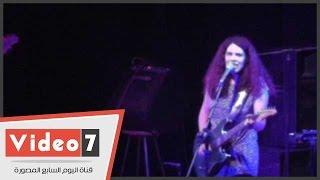 أغنية « وعودك » بصوت « شيرين عمرو » فى حفل « بوب روك »
