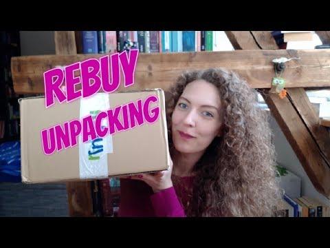 Rebuy Unpacking, Rebuy Haul, Bücher Neuzugänge