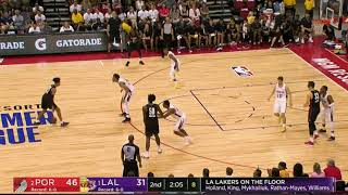 Highlights: Trail Blazers 91, Lakers 73 | Summer League 2018