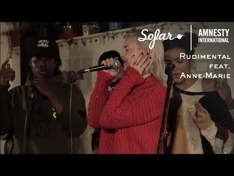 Rudimental feat. Anne-Marie - Rumour Mill  Sofar London - GIVE A HOME 2017