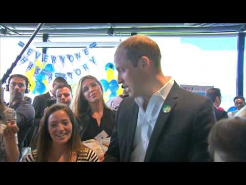 Prince William reveals what makes George stop crying