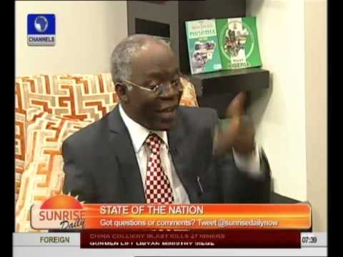 Nigeria Is At War, Government Ill-Prepared To Fight -- Falana - Part 1