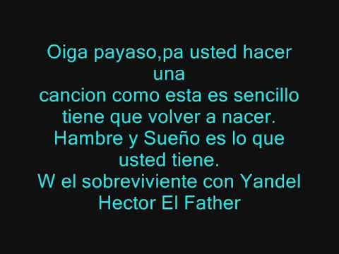 EL TELEFONO WISIN Y YANDEL FT HECTOR EL FATHER _con letra