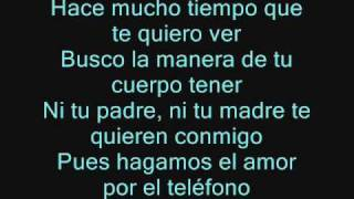 EL TELEFONO WISIN Y YANDEL FT HECTOR EL FATHER _con letra