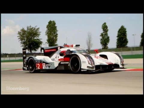 Test Driving Audi's Priceless R18 Race Car