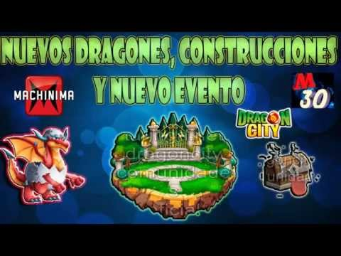 Nuevas contrucciones dragones nuevo EVENTO Dragon City agosto 2014