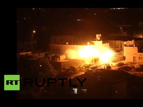 Israel military op video: IDF bombs West Bank after finding bodies of 3 missing teens