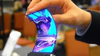 Samsung Amazing Flexible Display [CES 2013]
