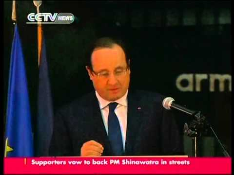 Hollande: violence is pushing C.A.R. closer to civil war