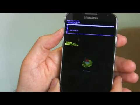 Galaxy S4- How to factory reset   Epic Reviews Tech CC