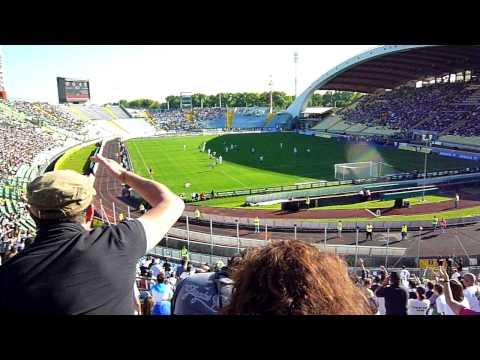 Udinese Juventus 0-4 19/09/2010, Iaquinta si becca i cori della Nord