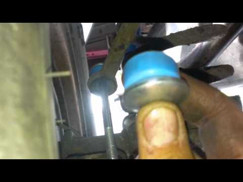 Rear Sway Bar Bushing Replacement Jeep Grand Cherokee