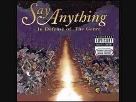 Say Anything - The Word You Wield
