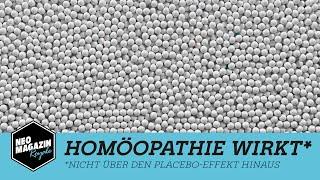 Homöopathie wirkt*   NEO MAGAZIN ROYALE mit Jan Böhmermann - ZDFneo