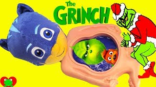 Preschool Learn Numbers Dr. Seuss The Grinch Stole Christmas PJ Masks Catboy Belly