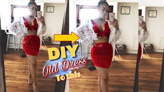 DIY IDEA FOR OLD CLOTHES + two piece outfit 2018