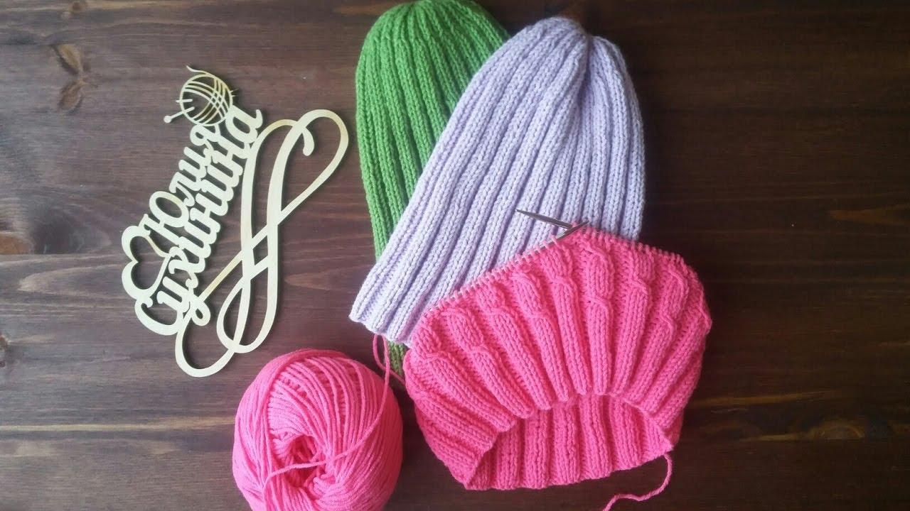 Вязание резинкой 4 на 3