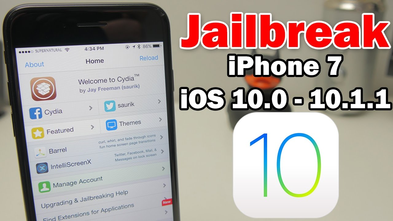 How to Jailbreak iPhone 7/7 Plus on iOS 10.1 - 10.1.1 Using Yalu/mach_portal & Fix Substrate - YouTube