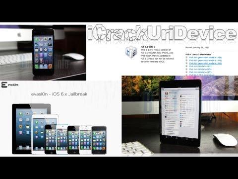 Evasi0n Jailbreak 6.1 Untethered News. Leaked iPhone 5S.6 Parts. iPad 5 iOS 6.1 Released & More