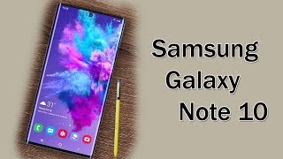 Samsung Galaxy Note 10 - will have a Sound on Display technology