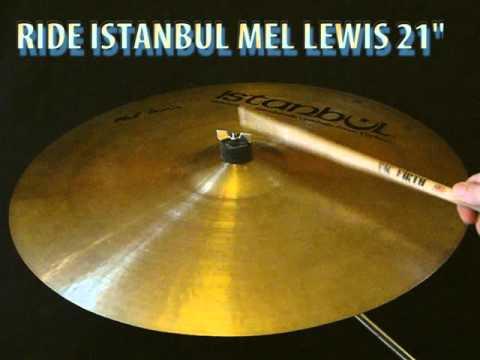 """Istanbul Mehmet Mel Lewis 21"""" ride cymbal"""