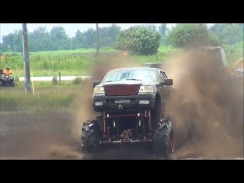 4x4 trucks GONE WILD mudding