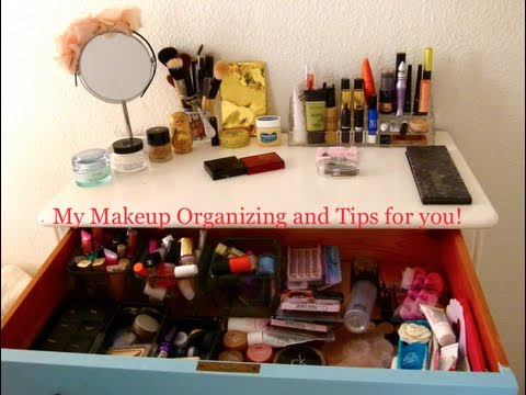 Organize Your Makeup Using Things From Around Your House