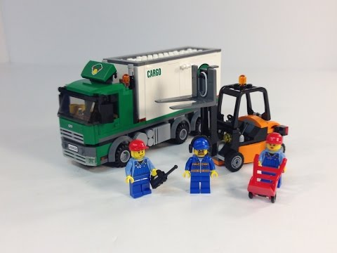 Đồ Chơi Lego City  Cargo Truck  Lắp Ráp Xe Tải Chở Hàng