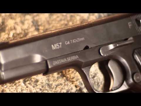 Zastava M57. M70A & M88A Semi-Auto Pistols