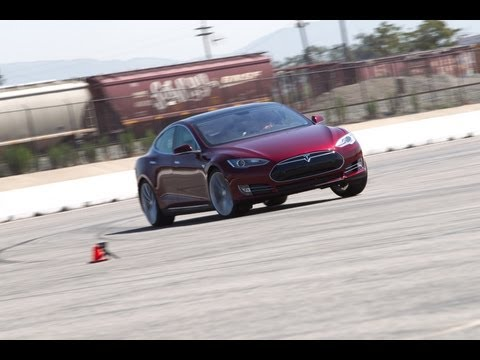 Track Tested: 2012 Tesla Model S  Edmunds.com Video