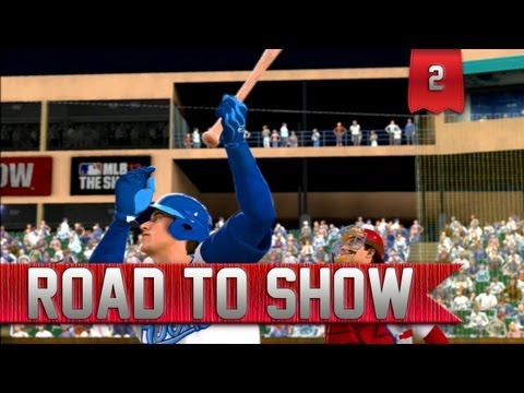 MLB 13 Road to the Show | AA Debut | Minor League Opening Day [EP 2]
