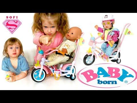 Сиденье для куклы на велосипед