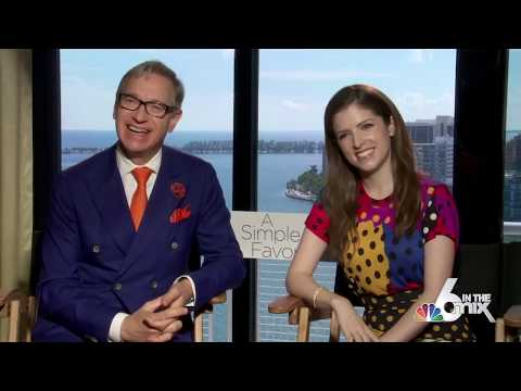 Actress Anna Kendrick And Director Paul Feig Talk 'A Simple Favor'